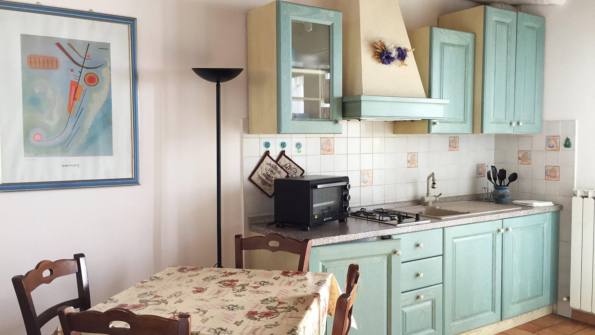 Appartamento blu Picchio della Tinaia